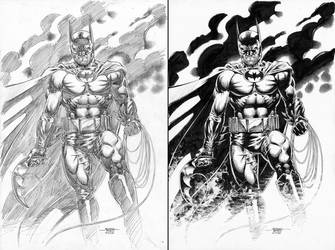 Batman - Smoke by edtadeo