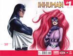 Inhumans - Blackbolt and Medusa