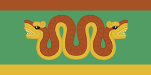 Flag of Great Empire of Tenochtitlan