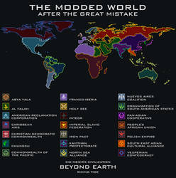 The Modded World After The Great Mistake by CoralArts