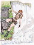 Lara Croft PS2 by BehindMusgo
