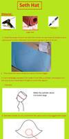 Seth Hat cosplay tutorial by Muralu