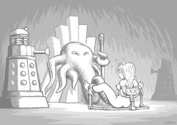 Maid: The Dalek King by Grigbertz