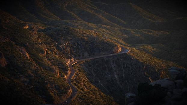 Road to Mt. Lemmon, AZ