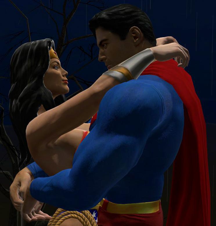 Superman and Wonder Woman GMod by Janus3003 on DeviantArt