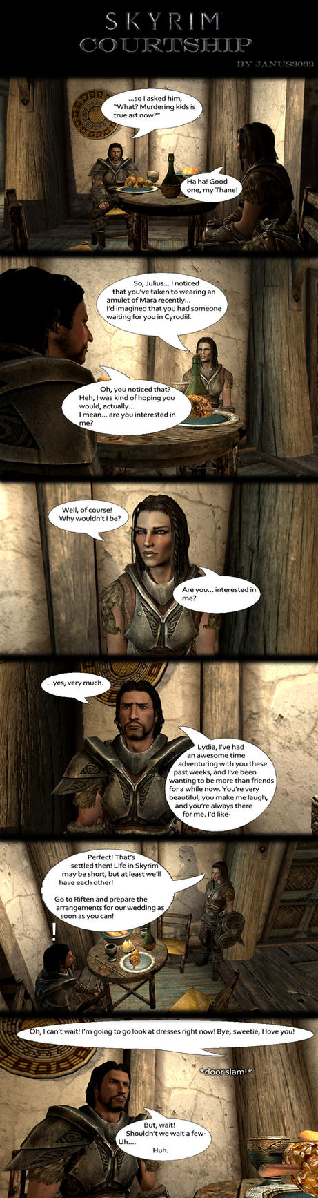Skyrim Oddities: Courtship by Janus3003