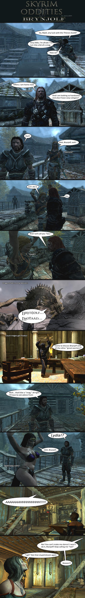 Skyrim Oddities: Brynjolf by Janus3003