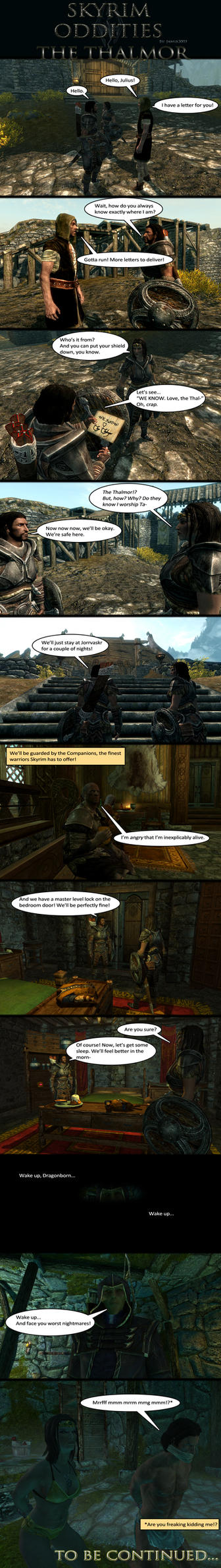 Skyrim Oddities: The Thalmor by Janus3003