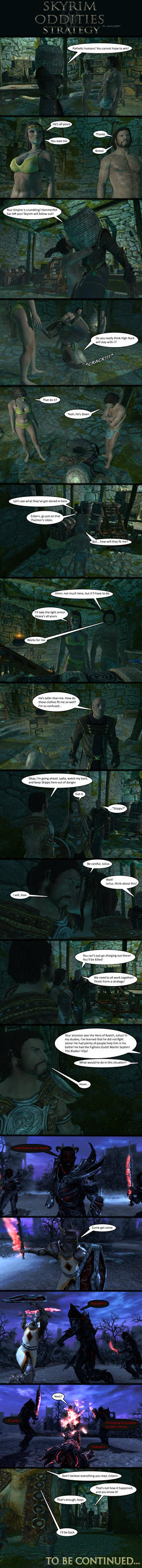 Skyrim Oddities: Strategy by Janus3003