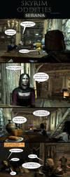 Skyrim Oddities: Serana by Janus3003