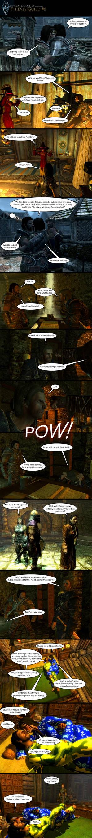 Skyrim Oddities: Thieves Guild #6