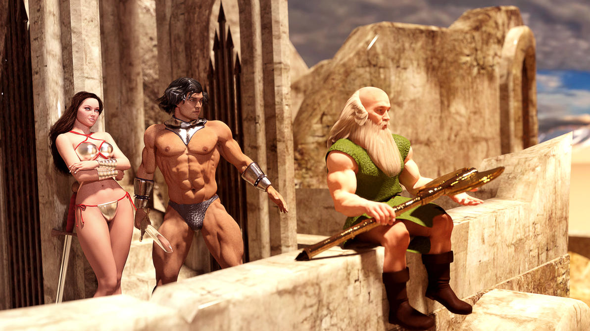 Golden Axe Heroes by Janus3003