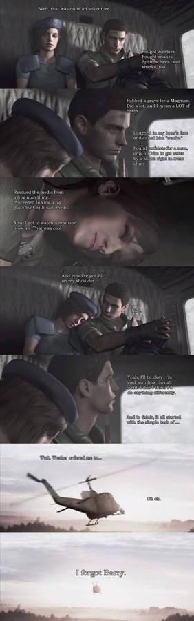 Resident Evil: Forgot Something Important