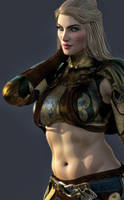 Lady Bassi - Belly Button! by Janus3003