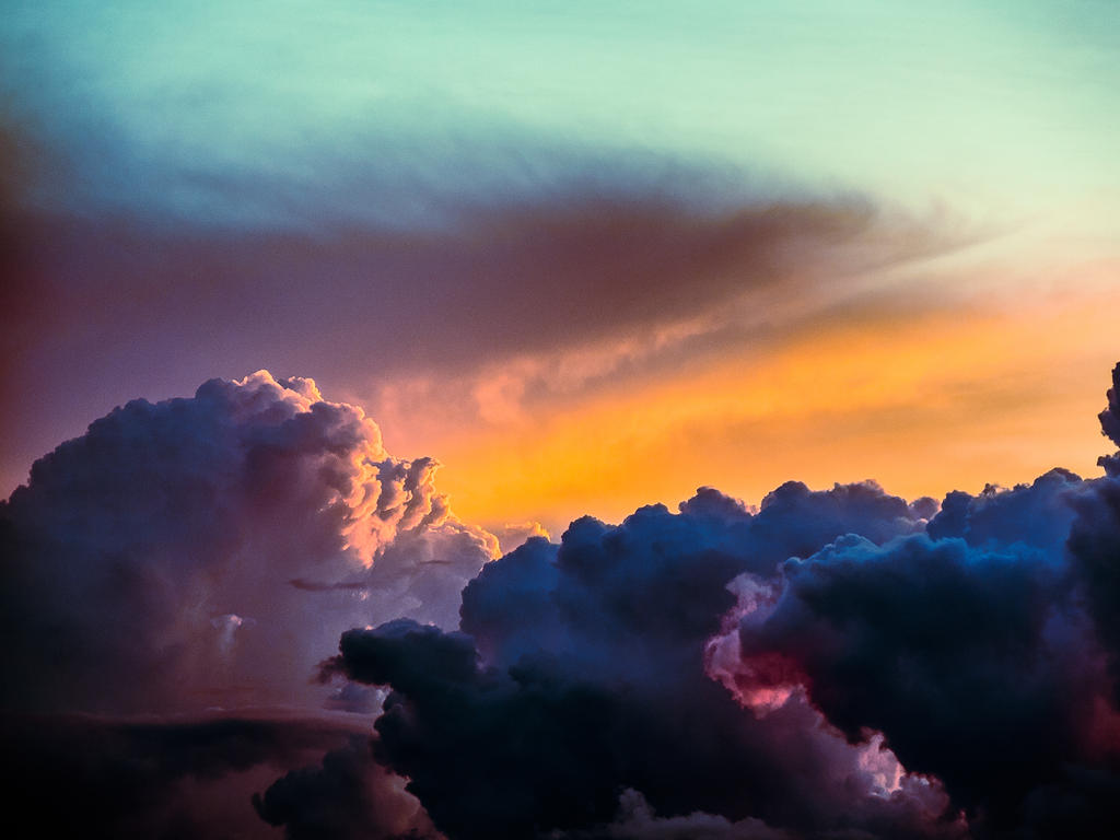 Burning Sky by JaanusJ