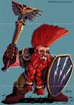 LMorgran Ironfist Dwarf Cleric Commission - 2019