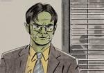 Orctober 4 - Dwight, Barbarian of Beets - 2020