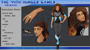 44th Hunger Games: Kahlidah Nuha