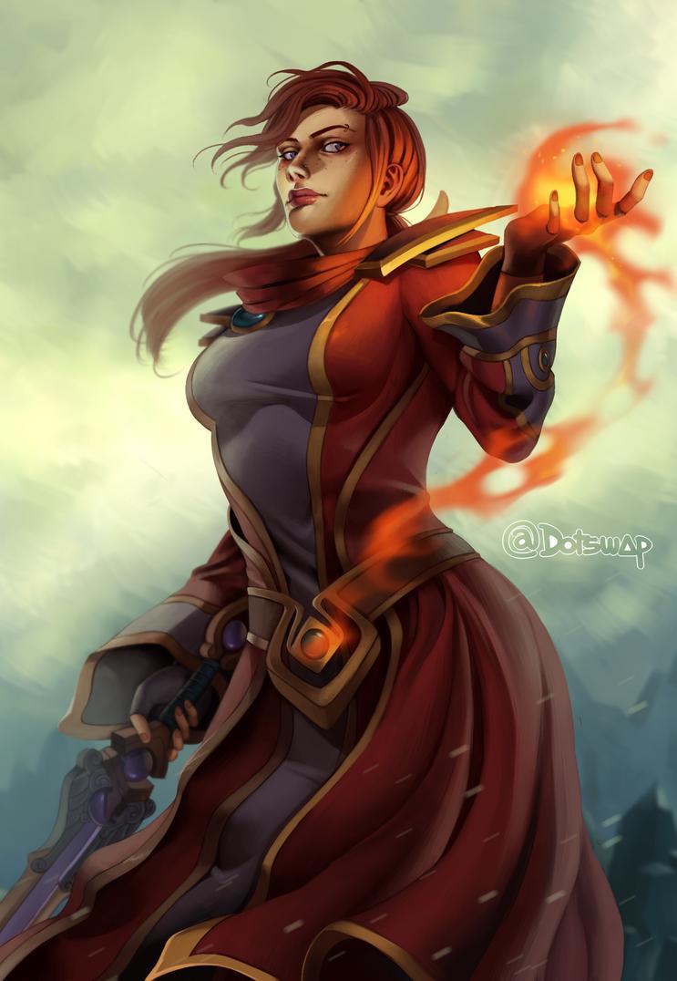 ablaze by Dotswap