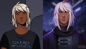 comic vs illustration