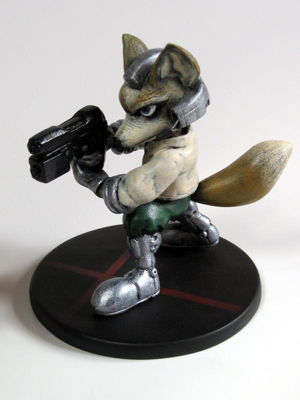 Super Smash Fox 1 by DannArte