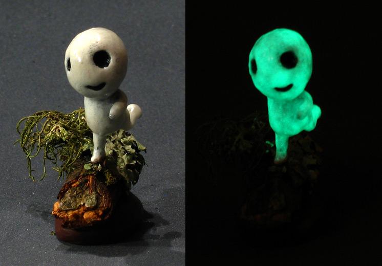 Glowing kodama by DannArte