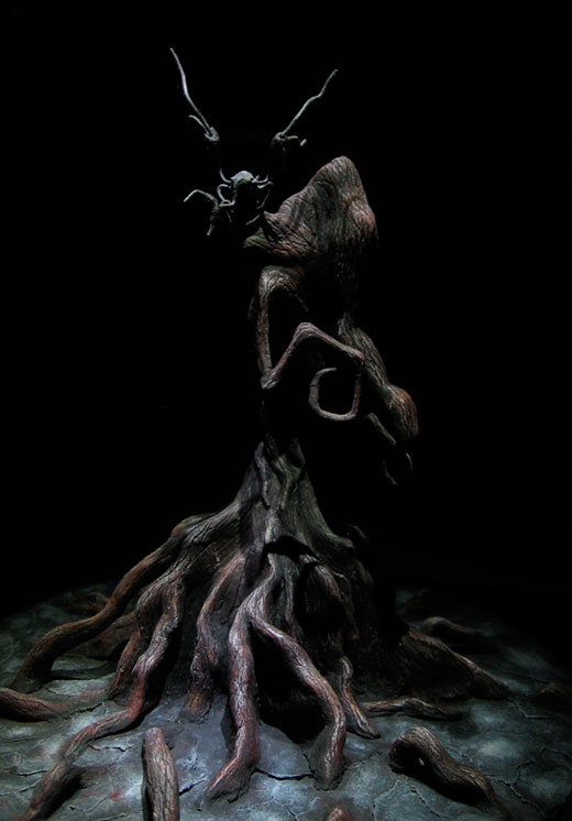 Rotten Tree _ sculpt by DannArte
