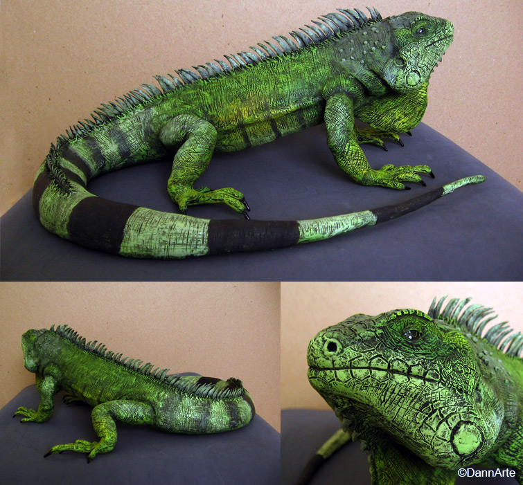 Green Iguana by DannArte