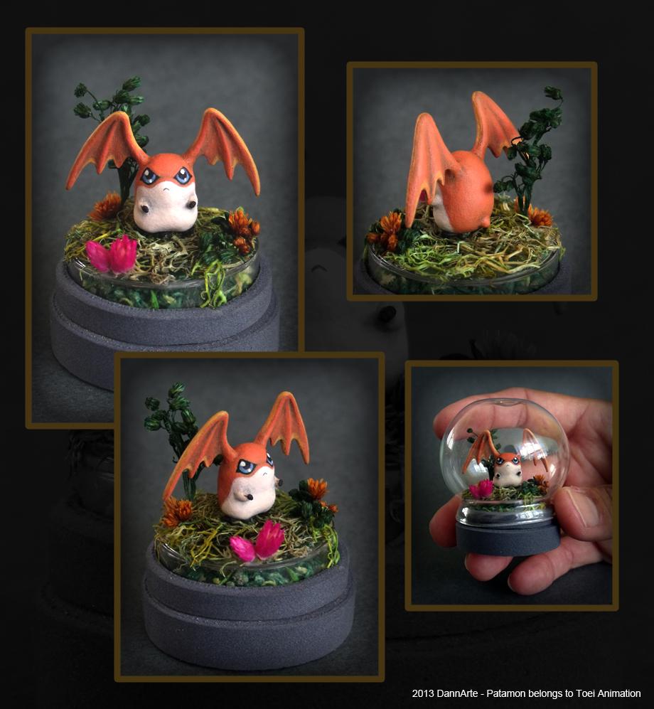 Patamon mini diorama by DannArte