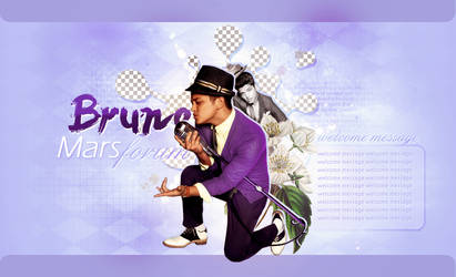 Bruno Mars forum logo by cuppycAke--semiLy
