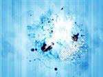 Blue splash texture