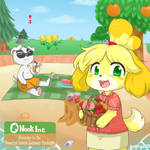 Isabelle and KK's Welcome Picnic