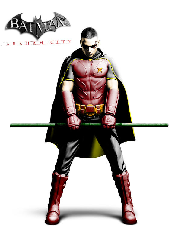Arkham City Robin by BadlyDrawnLightning on DeviantArt