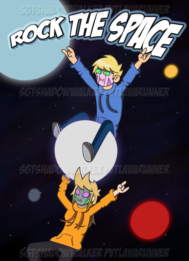 ROCK THE SPACE poster by SgtShadowWalker