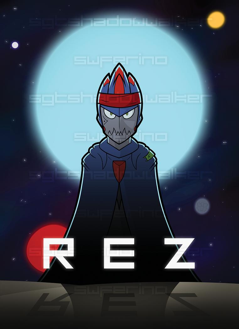 Rez Poster by SgtShadowWalker