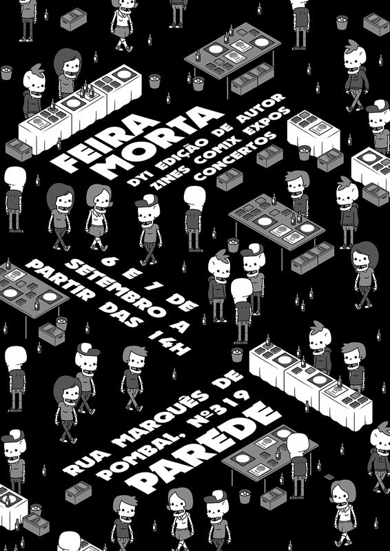 Morta Parede Poster by AF16