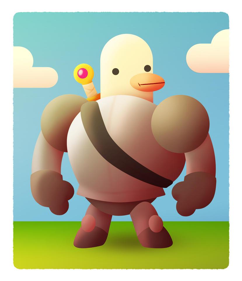 Duck Knight by AF16