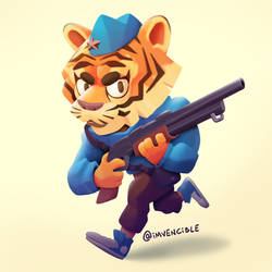 Tiger Soldier