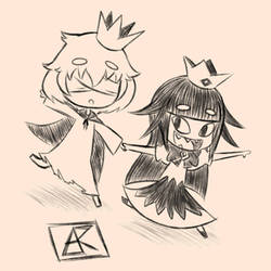 The Liar Princess and The Blind Prince by ArukoFanart