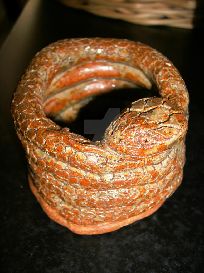 Snake Coil Pot by BaronGirl