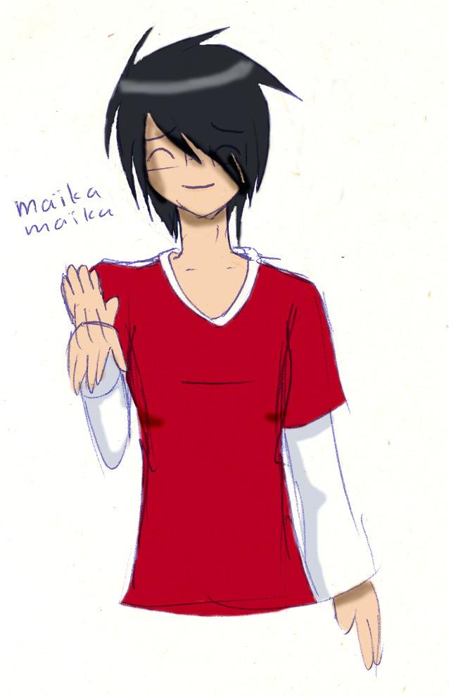 anime drawings of people. I really like drawing manga