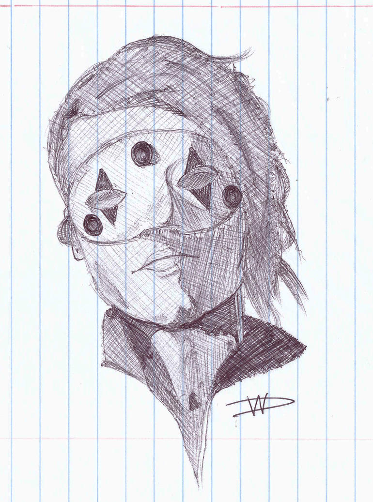 Gerard Way Killjoy Sketch by FalloutLuver13