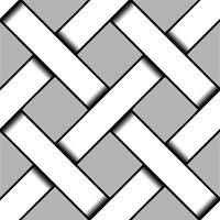 Seamless Weaved Lines Pattern by FalloutLuver13