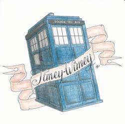 Timey-Wimey TARDIS by FalloutLuver13