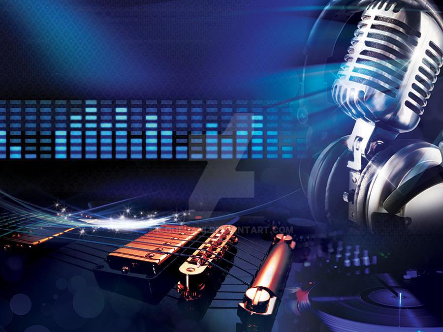 Music background images for websites