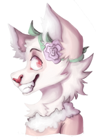Painted Headshot For Jam by redsun-araw