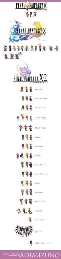 Final Fantasy Sprites