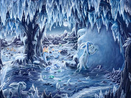 Iced Over (3DS Art) by CritCorsac