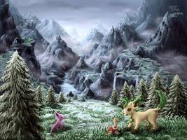 Change of Season (3DS Art) by CritCorsac