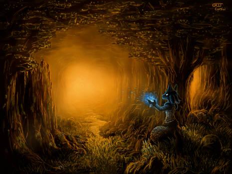 Forest Aura (3DS Art)